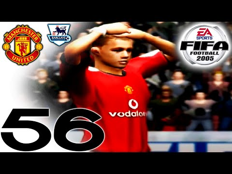 FIFA 2005 Career Mode - vs Manchester United (H) - Part 56