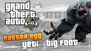 GTA V | Yeti/Goblin/Wielka stopa/Big Foot | Ciekawostki w GTA V (Easter Egg) [#17]