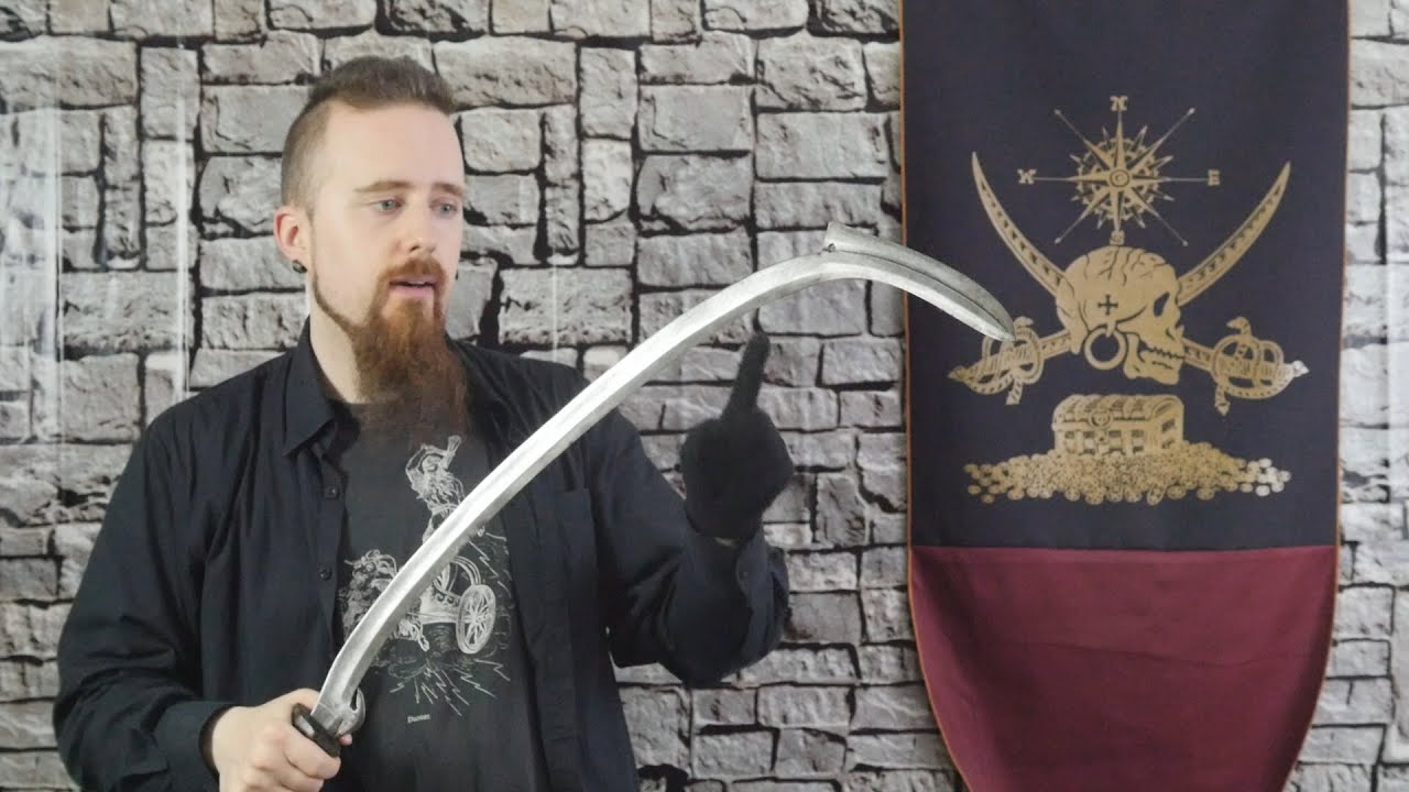 A Closer Look At An African Sickle Sword Mambele Youtube
