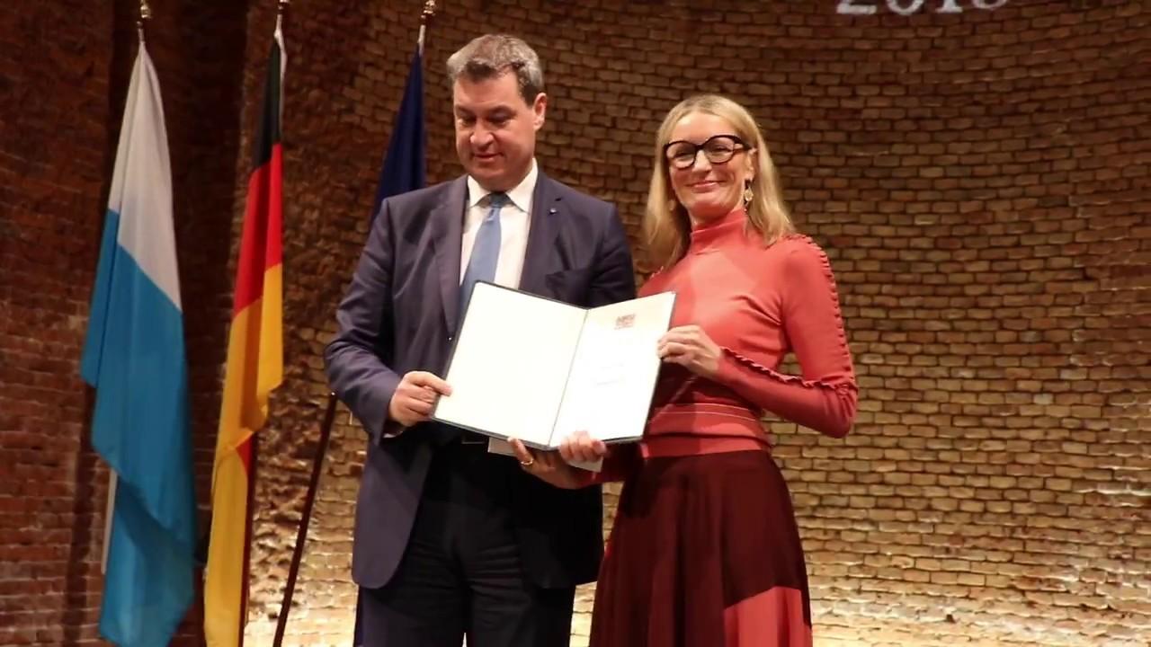 Monika Gruber Dialektpreis Bayern 2018 Sonderpreis Des