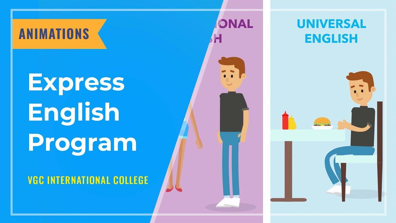 ANIMATIONS: Express English Program