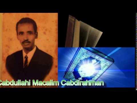 sh Abdullahi Macalim Abdirahman