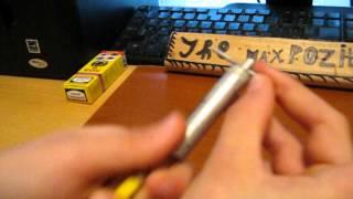 Обзор на мини-баллистический нож (The Max Pozitive)