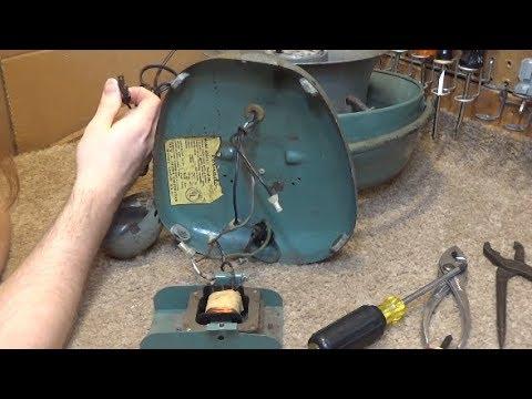 Vornado B24c1 1 Restoration Part 1 Testing Youtube
