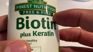 Biotin plus Keratin Review