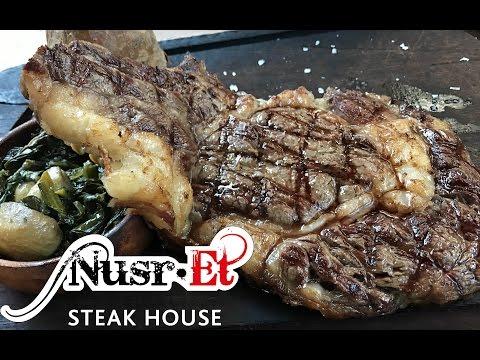 SALT BAE || Nusr-Et SteakHouse Experience!  [English Subtitled]