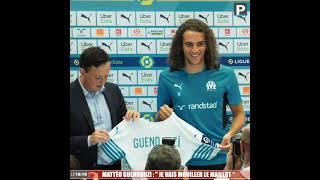 """OM - Mattéo Guendouzi : """"Je vais mouiller le maillot"""""""