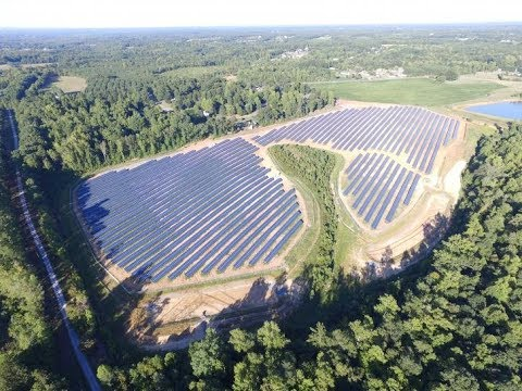The U S  solar industry's new growth region Trump country