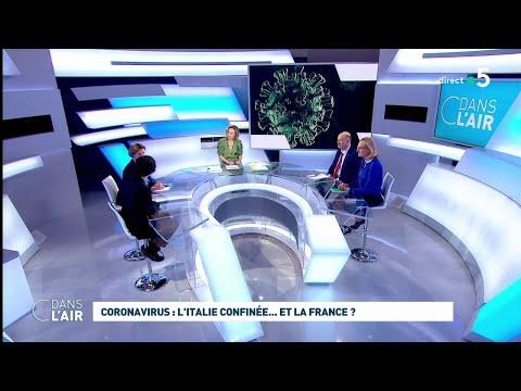 Coronavirus: l'Italie confinée... et la France ? #cdanslair 10.03.2020