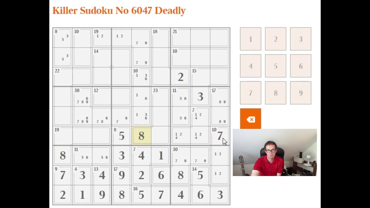 Killer Sudoku Made Easy