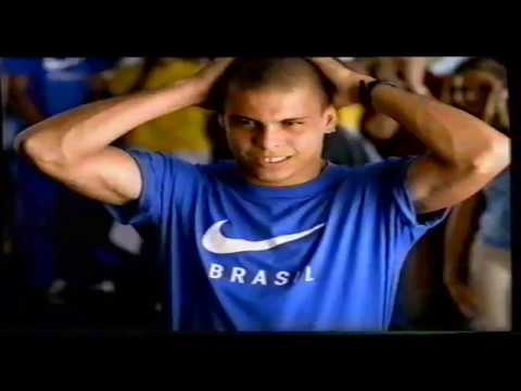 Ronaldo 1997 Nike TV Commercial - Brazil Football Team