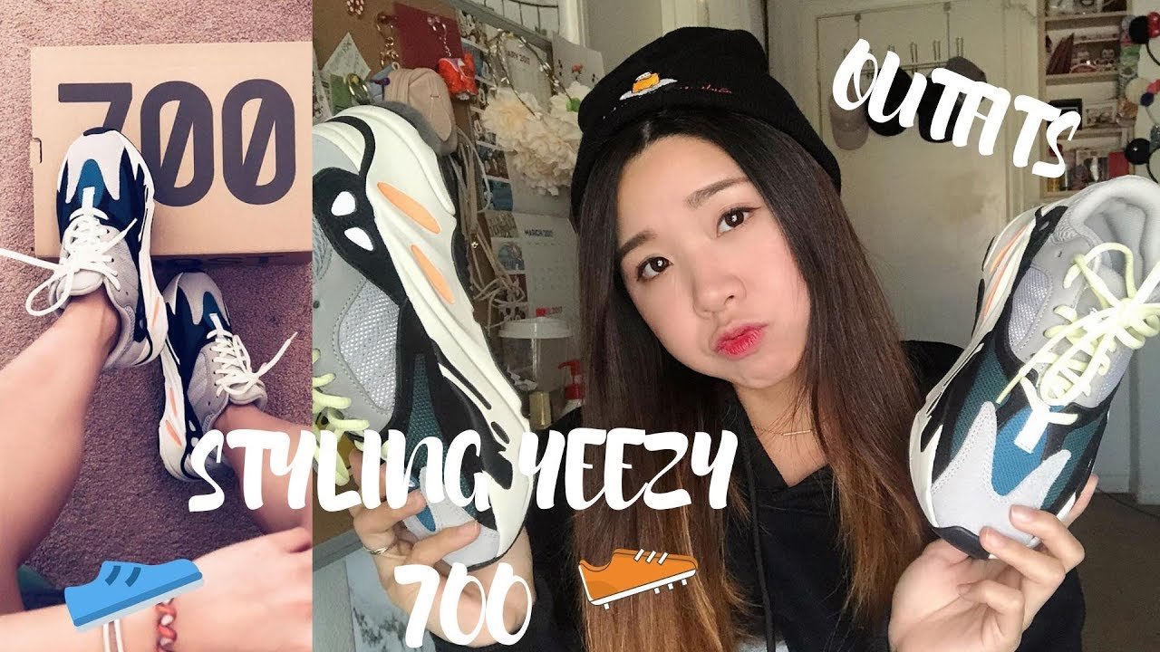 HOW TO STYLE YEEZY 700 FOR GIRLS