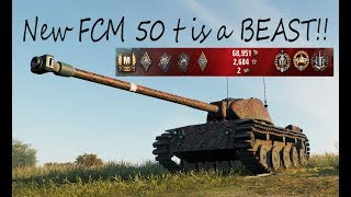 New FCM 50 t is a BEAST World of Tanks