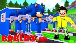 * SONIC * BEST AND WORST ROBLOX GAMES EVER