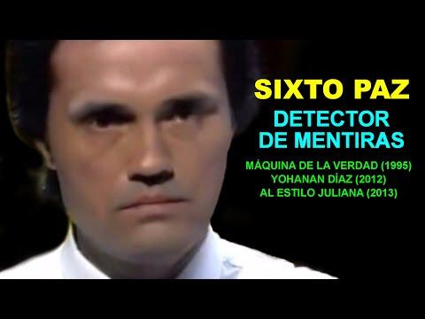 SIXTO PAZ WELLS - Detector de mentiras