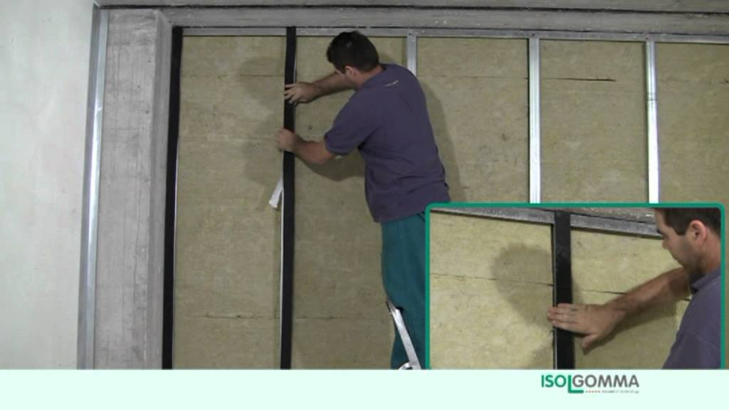 Sound Insulation MINERAL + MUSTWALL: Partition Walls 125mm