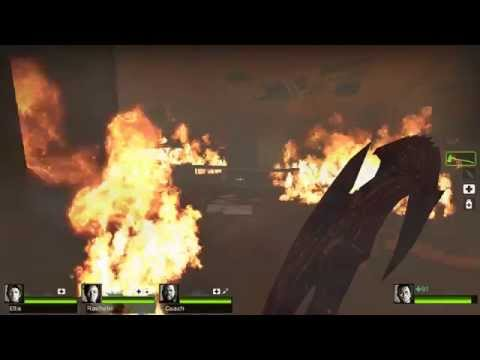 Left 4 Dead 2! Dead Center! With Custom Weapons!