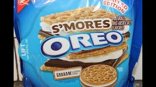 S'mores Oreo Cookie Review