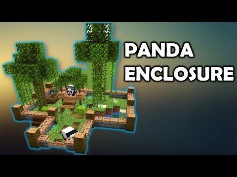 How To Build A Panda Enclosure - Minecraft 1.14
