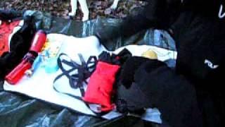 Hammock - Gear packed up.AVI