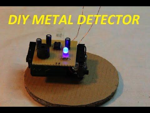 DIY easy Metaldetector / German