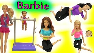 Gymnastic Coach + Most Poseable Doll EVER Made To Move Barbie