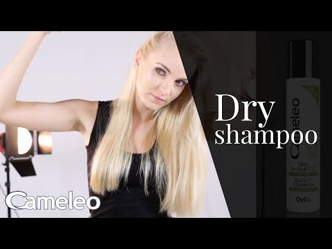 Cameleo Dry Shampoo – how to use
