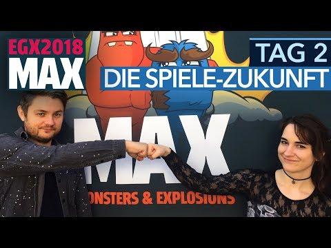 EGX Berlin 2018 - Tag 2: Gaming in fünf Jahren, Anno vs. Siedler, visionäre Spiele - #EGMAX
