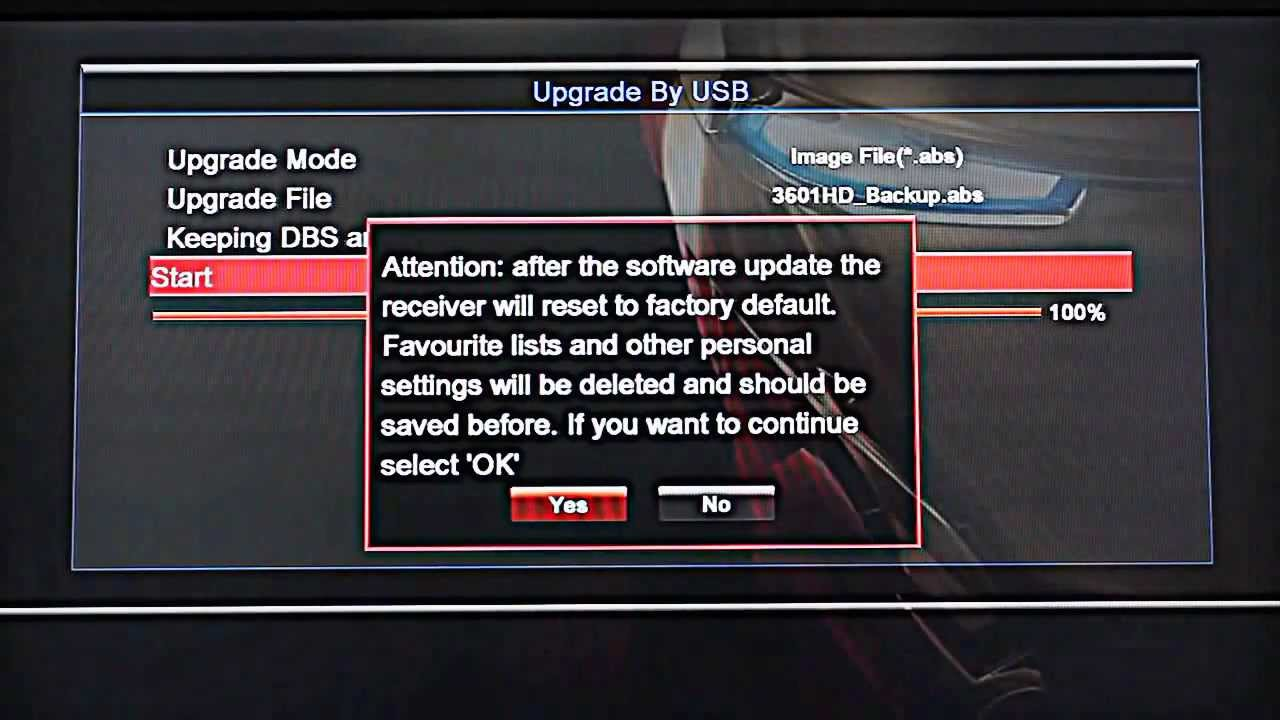Skybox and Openbox Firmware Upgrade Instructions HD