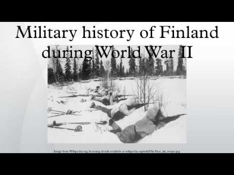 Military history of Finland during World War II