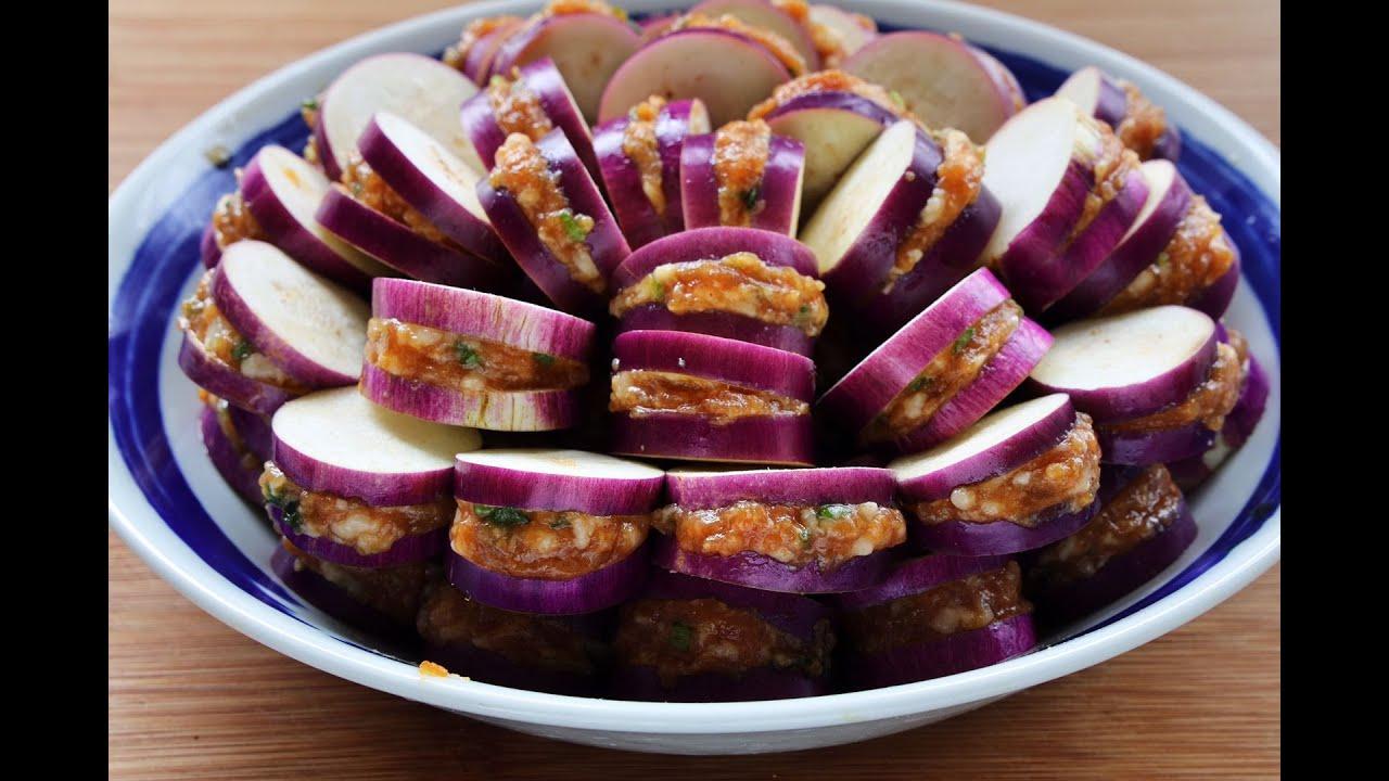 【茄盒】茄子別紅燒了,學會這個做法,外焦裏嫩,做壹次饞壹次!好吃!