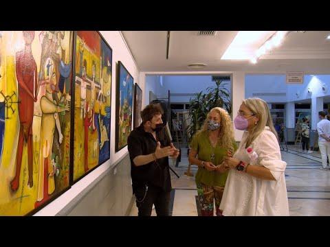 Cartaya Tv | Rafa Pinto expone su obra