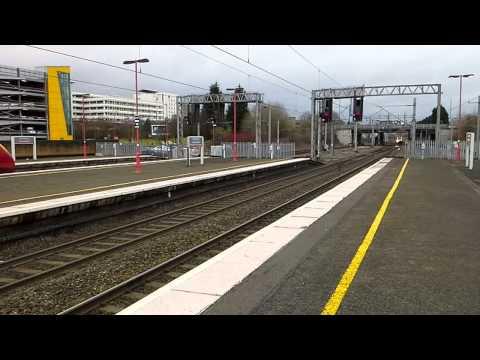 Trains at: Birmingham International, WCML, 9/03/15