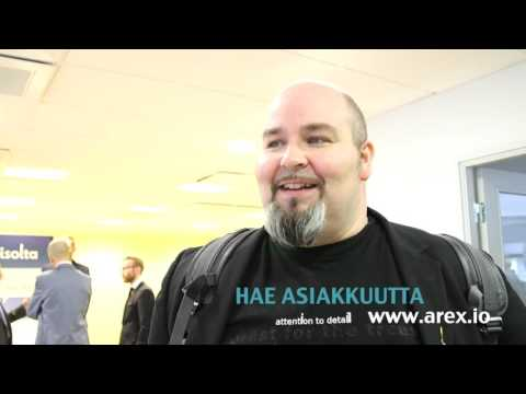 AREX Launch in Finland - Interview with Janne Saarikko from Office Nomad