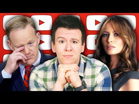 Thumbnail: Why People Are Freaking Out About Fake News, Melania Trump, and United's BackPedaling