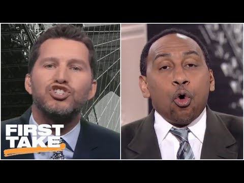 Will Cain gets Stephen A. and crew heated over his Baker Mayfield-Hue Jackson take | First Take
