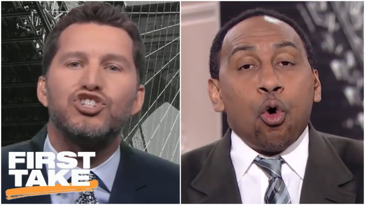 Will Cain gets Stephen A  and crew heated over his Baker Mayfield-Hue  Jackson take   First Take