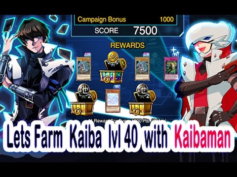 Lets Farm Marathon Kaiba lvl 40 with Kaibaman Apples ft Joey | Yu-Gi-Oh! Duel Links
