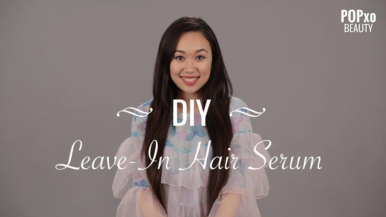 DIY Leave-In Hair Serum - POPxo Beauty