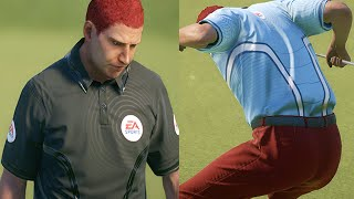 FORE!!! LOOK OUT   Rory McIlroy PGA TOUR Career Mode   THE OPEN CHAMPIONSHIP