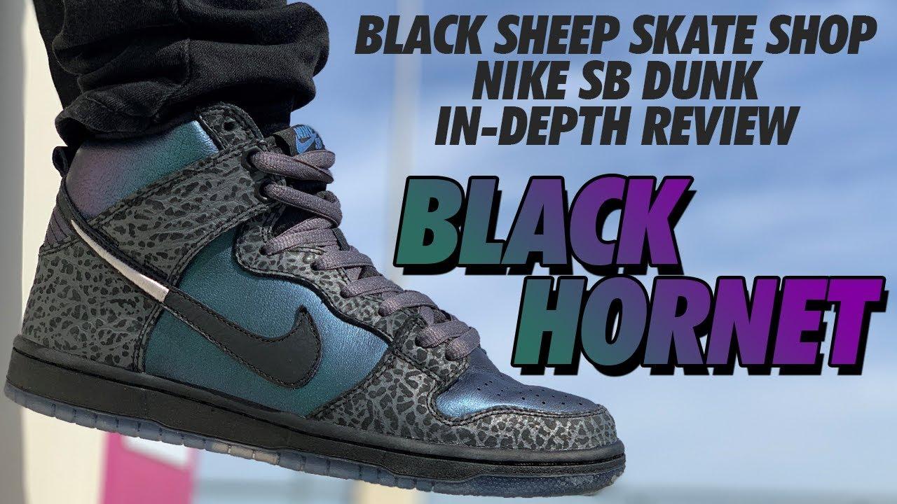 new style 4e7e6 0530a  blackhornet  blacksheep  hornetdunks.