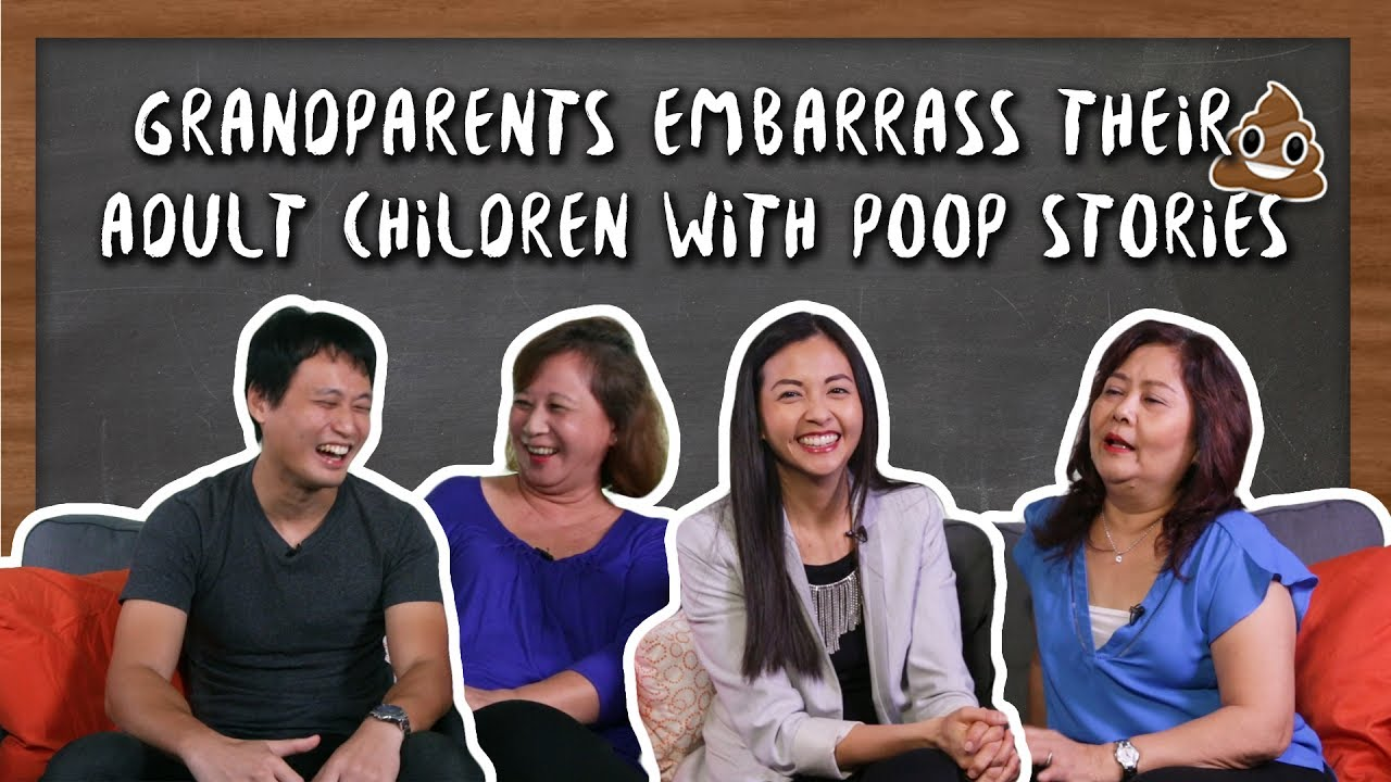 VIDEO] Malaysian Grandparents Tell Embarrassing Poop Stories