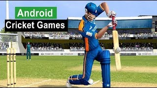 Best cricket games for android ios 2017 - high graphics gameplays