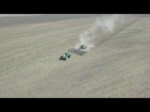 Manitoba Farmer Seeding