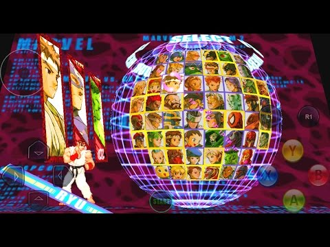 marvel vs capcom 2 apk  data