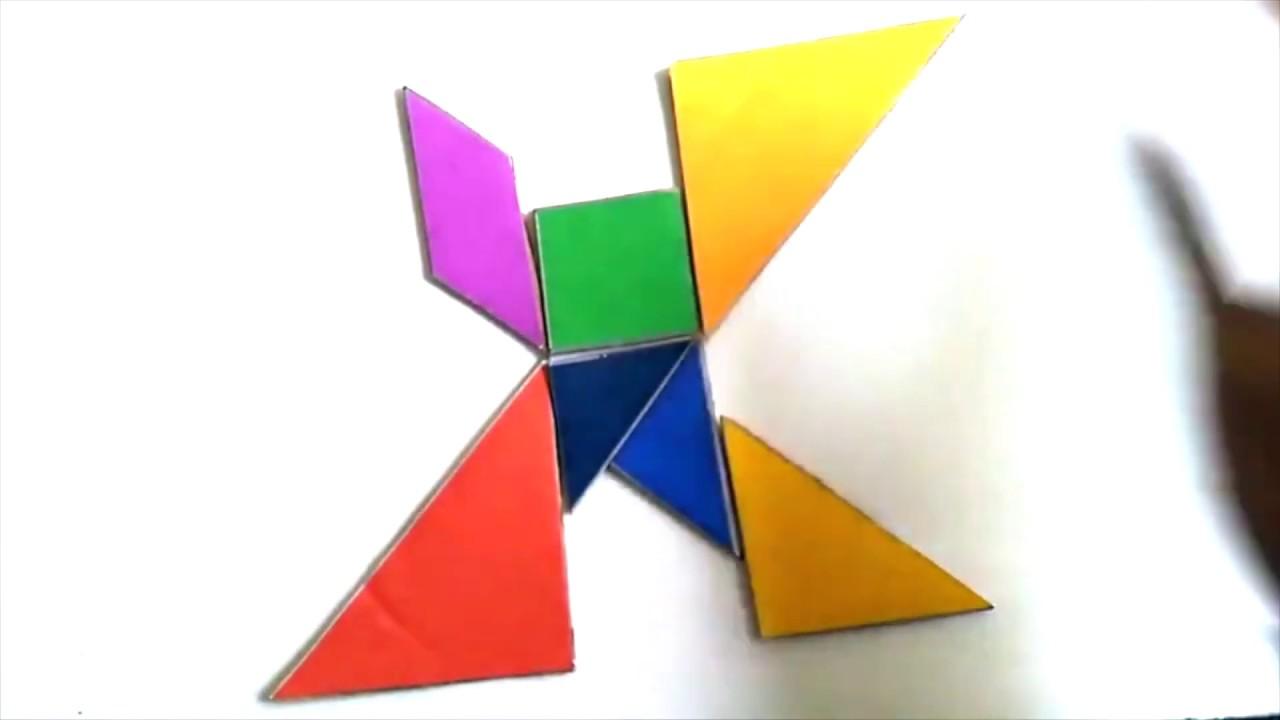 tangrams  alphabet  youtube
