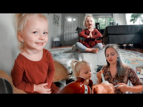 Adorable Yoga Time! + Her Favorite Part Of Baking Cookies!