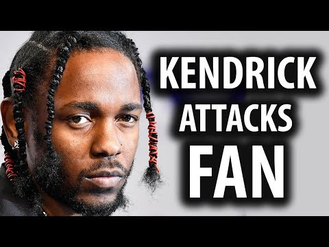 Kendrick Lamar Attacks Fan For Singing His Song