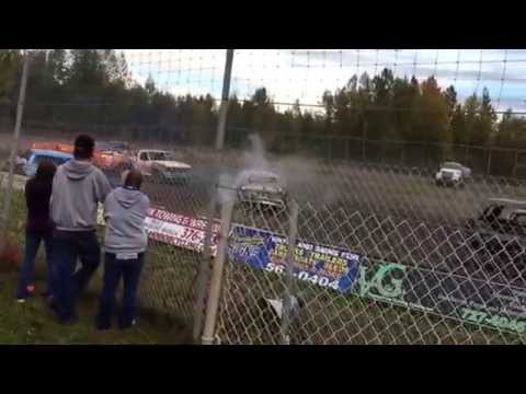 Capitol Speedway, Demolition Derby, 9-6-2015