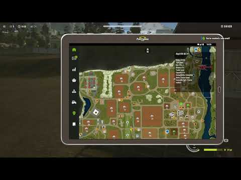 Let's Play Pure farming 2018   part 4    irrigation time
